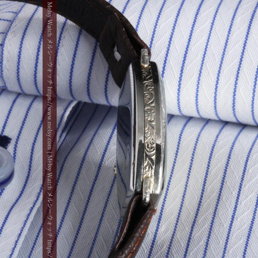 上品さが光る美しいハミルトンの金無垢アンティーク腕時計【1930年頃】箱付き-W1470-7