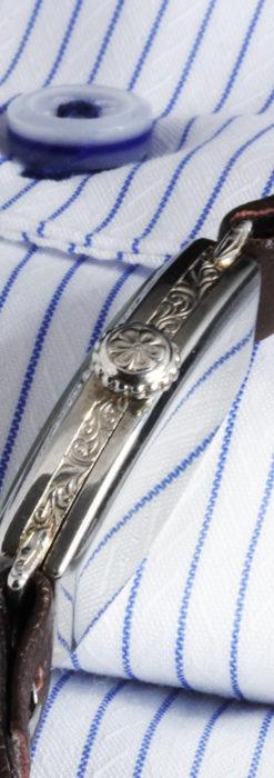 上品さが光る美しいハミルトンの金無垢アンティーク腕時計【1930年頃】箱付き-W1470-8