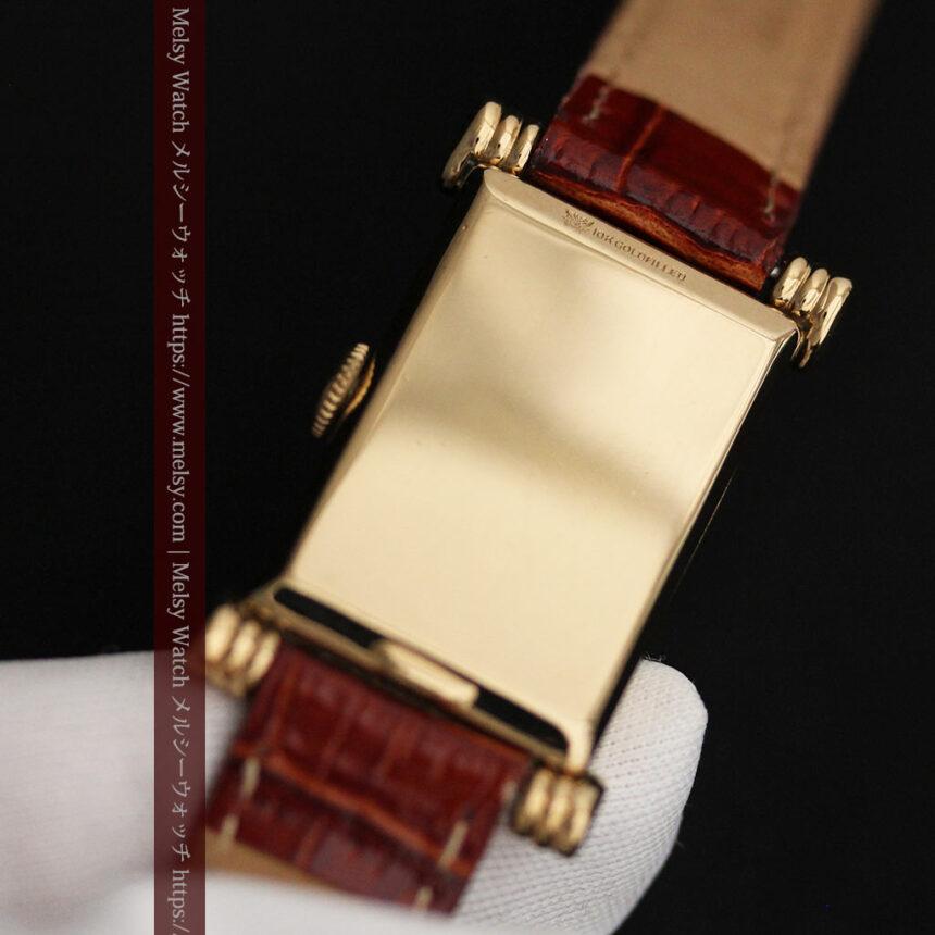 グリュエンの上品さと風格を備えるアンティーク腕時計【1940年頃】-W1471-14