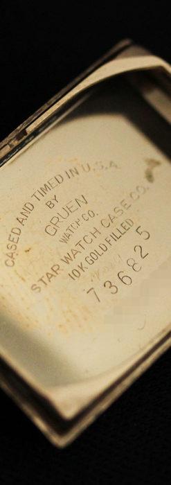 グリュエンの上品さと風格を備えるアンティーク腕時計【1940年頃】-W1471-15