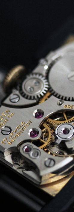 グリュエンの上品さと風格を備えるアンティーク腕時計【1940年頃】-W1471-16