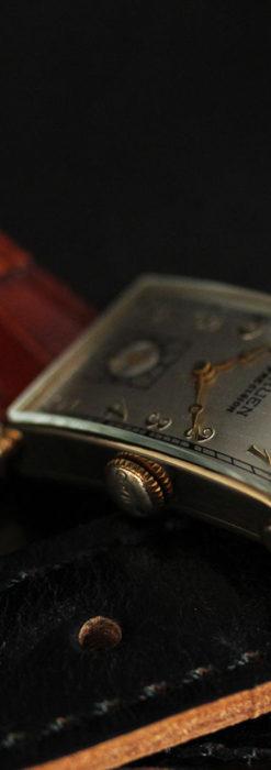 グリュエンの上品さと風格を備えるアンティーク腕時計【1940年頃】-W1471-5