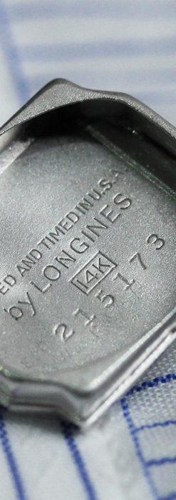 ロンジン 金無垢女性用アンティーク腕時計 ルビーとダイヤ装飾 【1943年製】-W1474-16