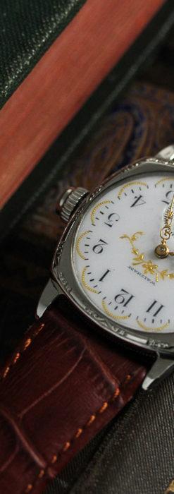 ウォルサムのアンティーク腕時計 深みのある美しさ 【1908年製】-W1476-4