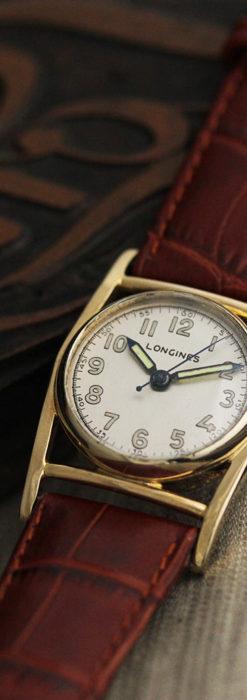 ロンジン アンティーク腕時計 魅せるカジュアル 【1944年製】-W1479-1