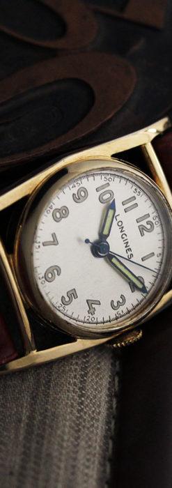 ロンジン アンティーク腕時計 魅せるカジュアル 【1944年製】-W1479-2