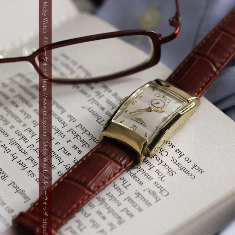 ロンジン アンティーク腕時計 昭和のレトロ美 【1951年製】-W1480-1