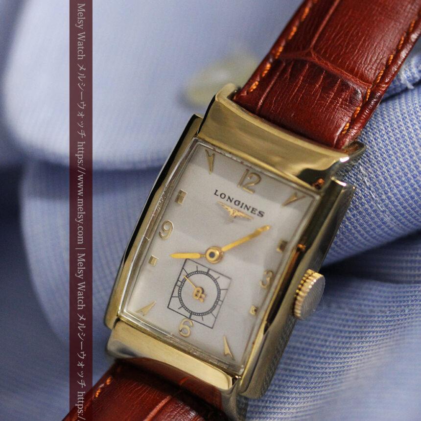 ロンジン アンティーク腕時計 昭和のレトロ美 【1951年製】-W1480-10
