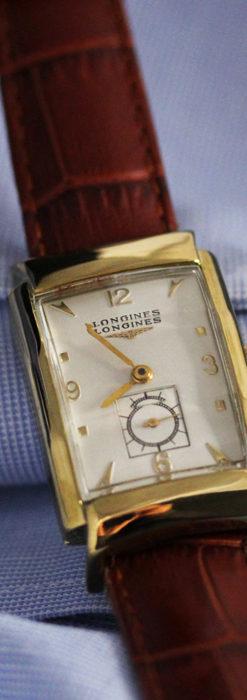 ロンジン アンティーク腕時計 昭和のレトロ美 【1951年製】-W1480-11