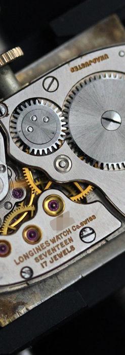 ロンジン アンティーク腕時計 昭和のレトロ美 【1951年製】-W1480-15