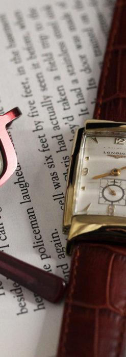 ロンジン アンティーク腕時計 昭和のレトロ美 【1951年製】-W1480-2