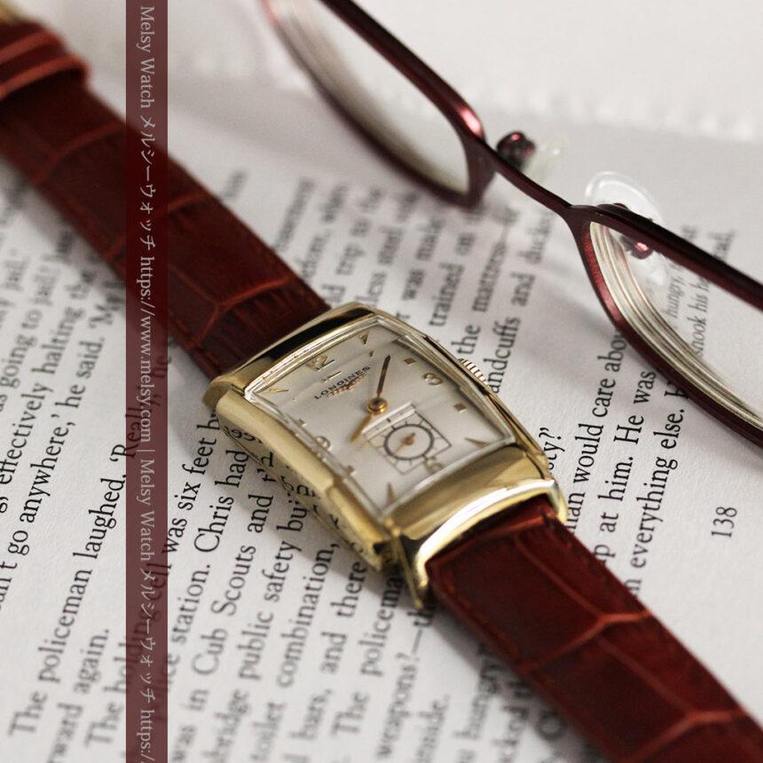 ロンジン アンティーク腕時計 昭和のレトロ美 【1951年製】-W1480-3