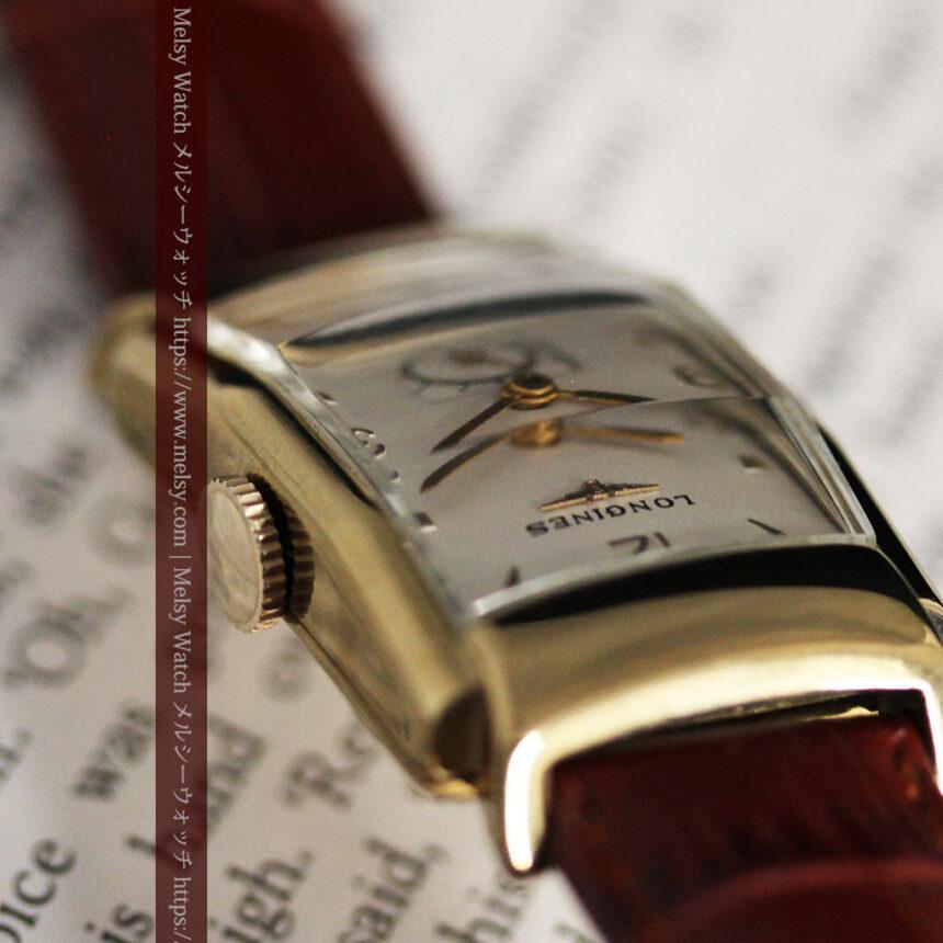 ロンジン アンティーク腕時計 昭和のレトロ美 【1951年製】-W1480-4