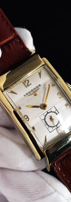 ロンジン アンティーク腕時計 昭和のレトロ美 【1951年製】-W1480-5