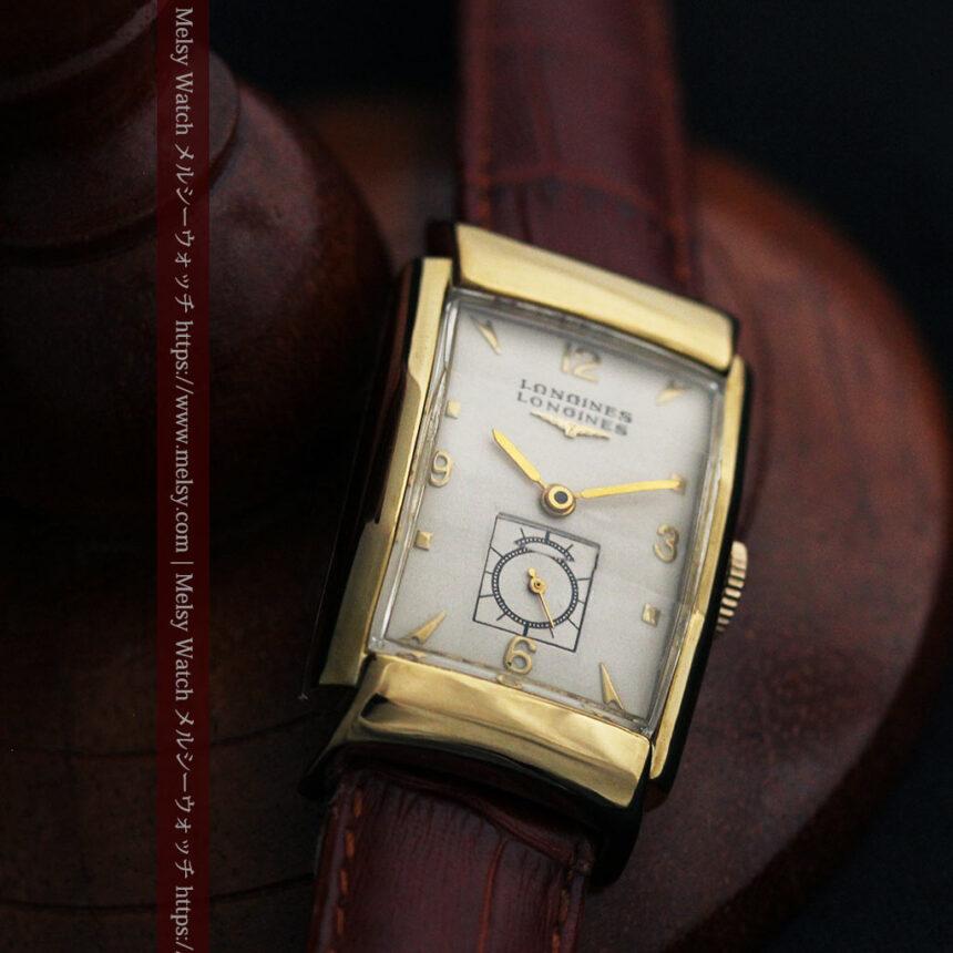 ロンジン アンティーク腕時計 昭和のレトロ美 【1951年製】-W1480-7