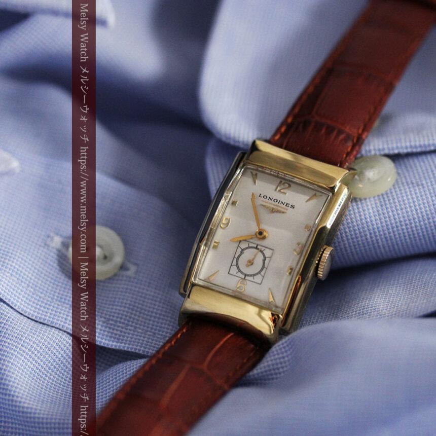 ロンジン アンティーク腕時計 昭和のレトロ美 【1951年製】-W1480-8