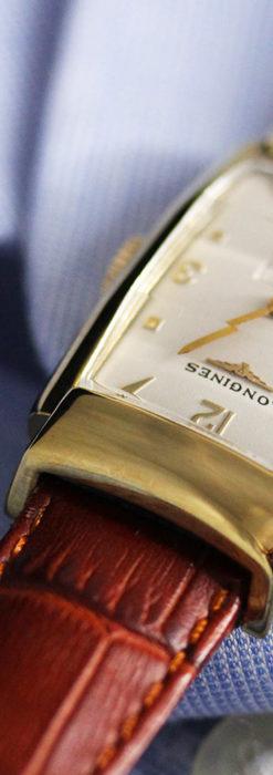 ロンジン アンティーク腕時計 昭和のレトロ美 【1951年製】-W1480-9