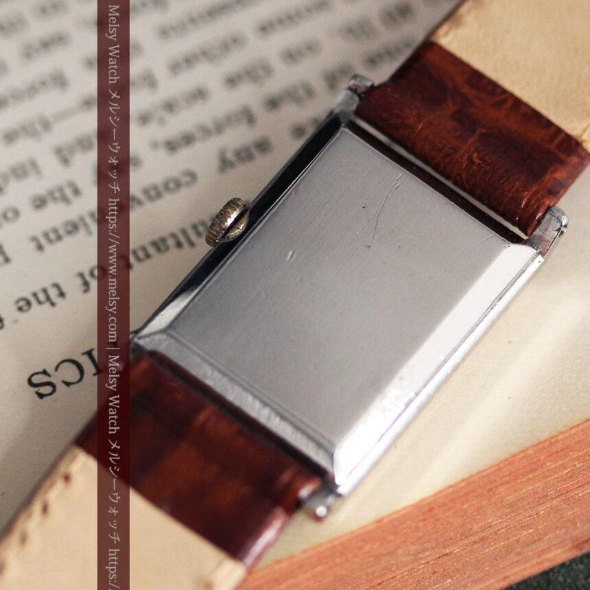 オメガ アンティーク腕時計 上品な黒と金のコントラスト 【1943年製】-W1481-16