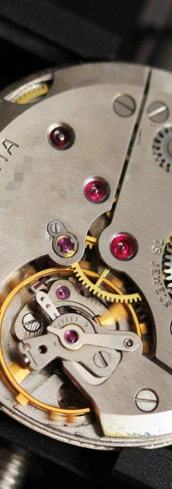 ベンソンの昭和レトロな金無垢アンティーク腕時計 【1967年頃】-W1483-16