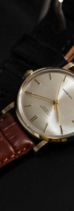ベンソンの昭和レトロな金無垢アンティーク腕時計 【1967年頃】-W1483-3