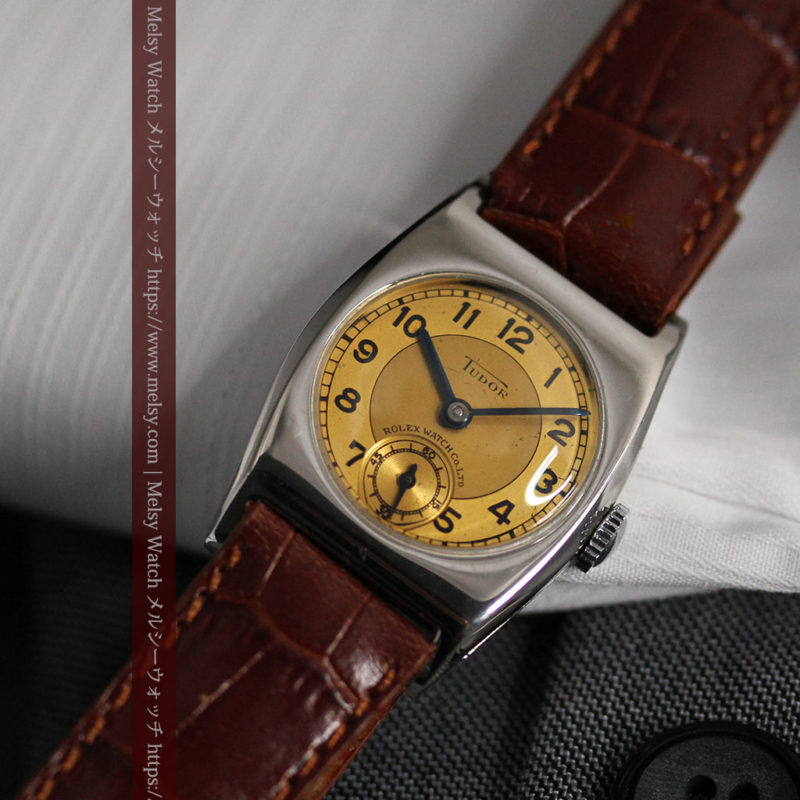 ロレックス・チュードル 奥深い素朴さのアンティーク腕時計 【1940年頃】-W1488-1