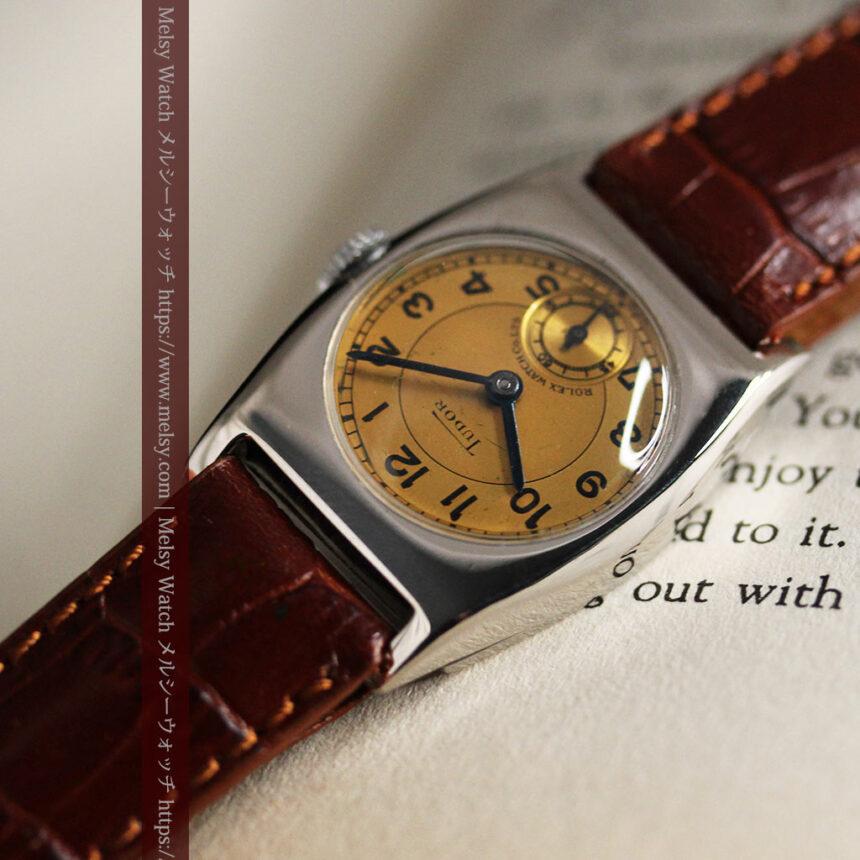 ロレックス・チュードル 奥深い素朴さのアンティーク腕時計 【1940年頃】-W1488-12