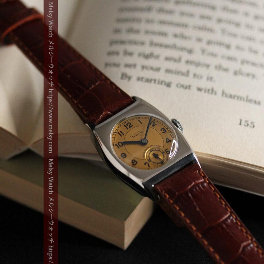 ロレックス・チュードル 奥深い素朴さのアンティーク腕時計 【1940年頃】-W1488-15