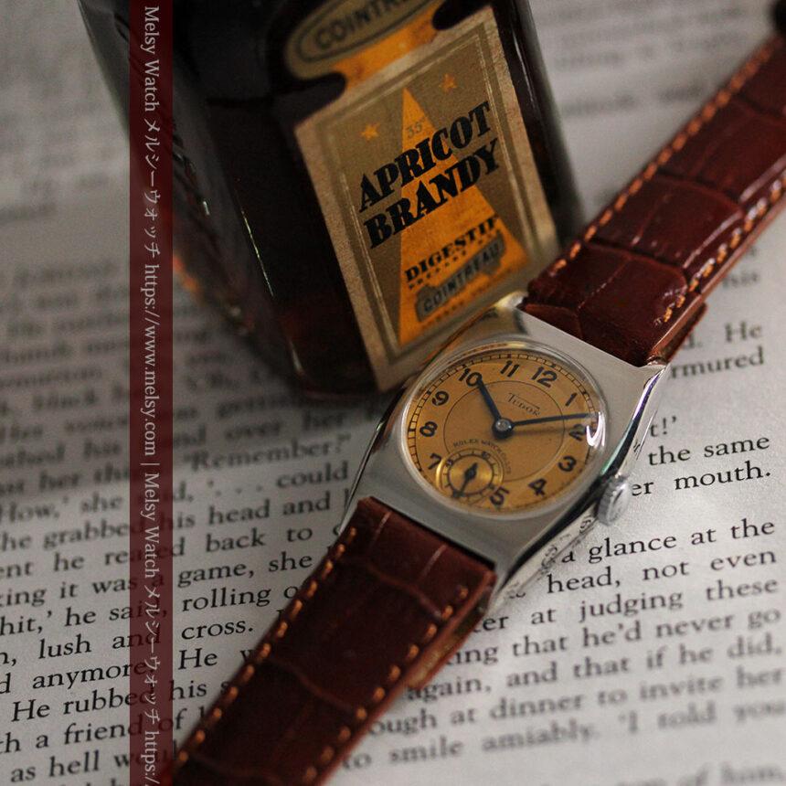 ロレックス・チュードル 奥深い素朴さのアンティーク腕時計 【1940年頃】-W1488-2