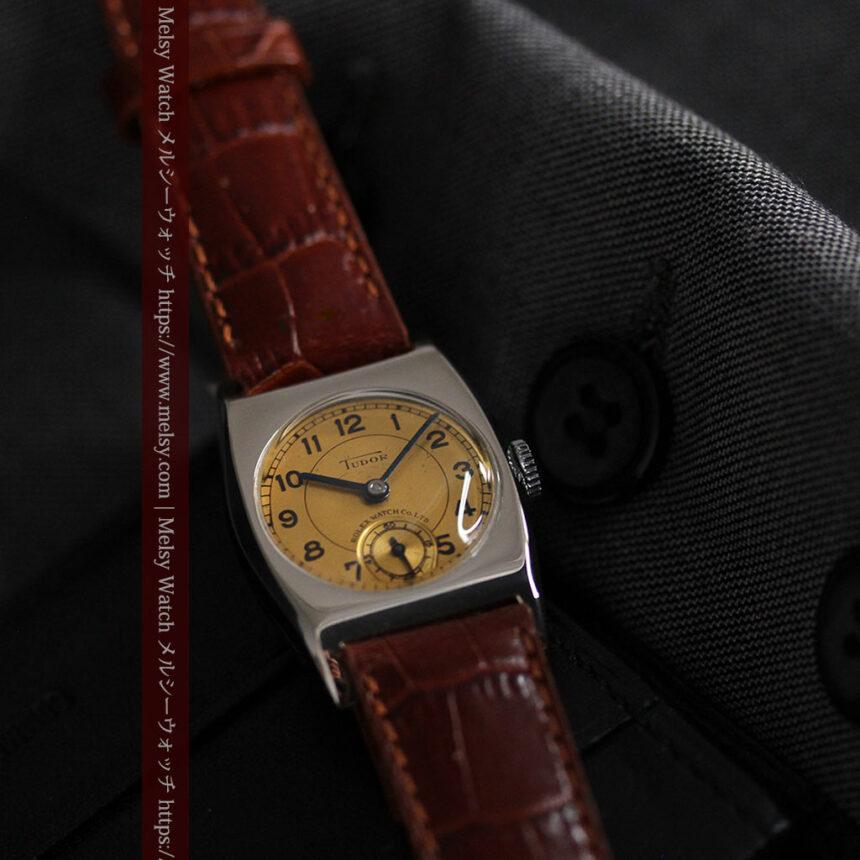 ロレックス・チュードル 奥深い素朴さのアンティーク腕時計 【1940年頃】-W1488-3