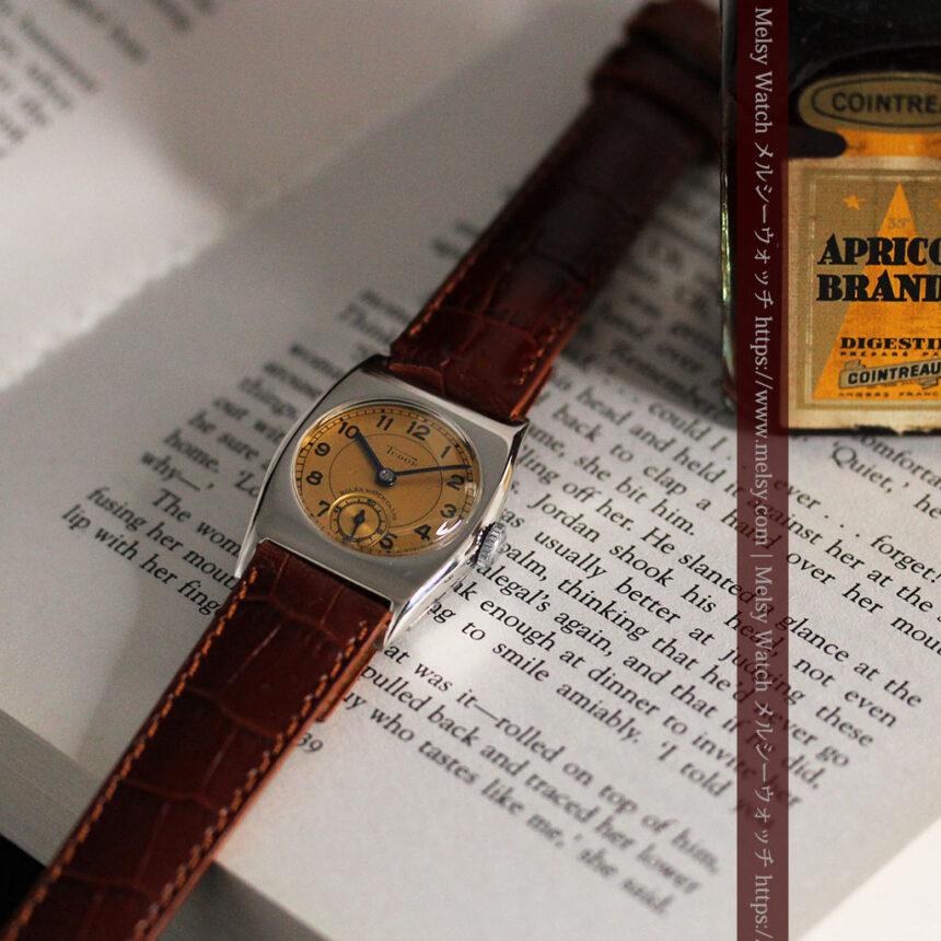 ロレックス・チュードル 奥深い素朴さのアンティーク腕時計 【1940年頃】-W1488-4