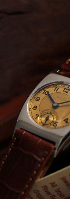 ロレックス・チュードル 奥深い素朴さのアンティーク腕時計 【1940年頃】-W1488-5