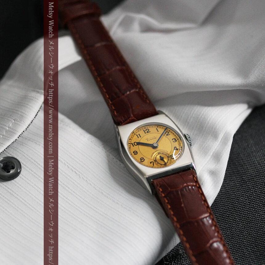 ロレックス・チュードル 奥深い素朴さのアンティーク腕時計 【1940年頃】-W1488-7