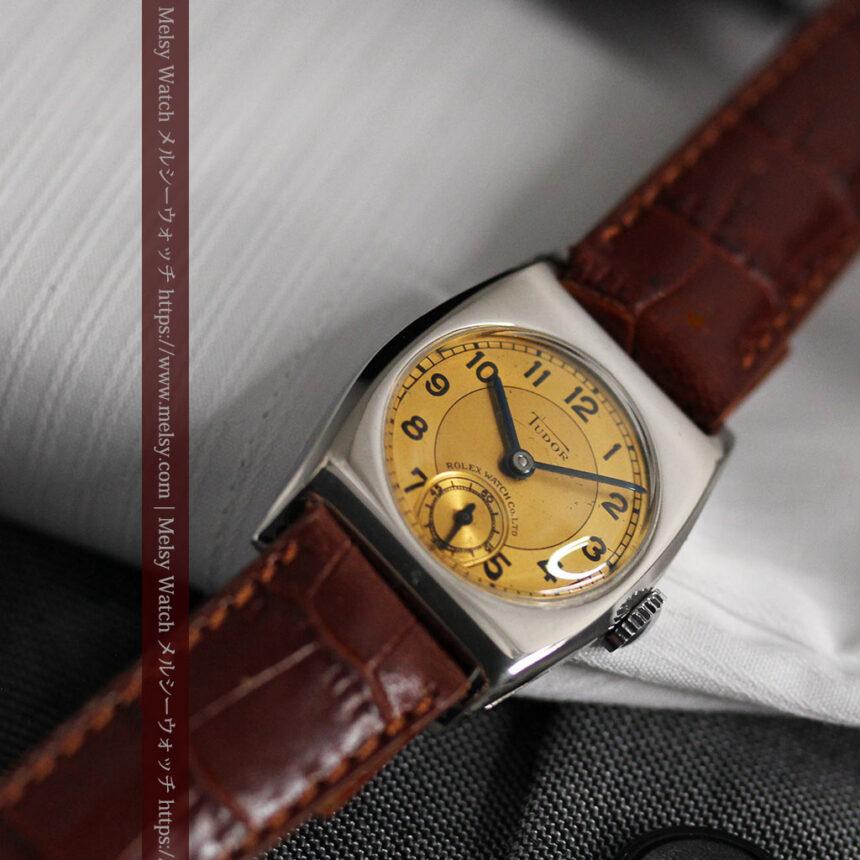 ロレックス・チュードル 奥深い素朴さのアンティーク腕時計 【1940年頃】-W1488-8