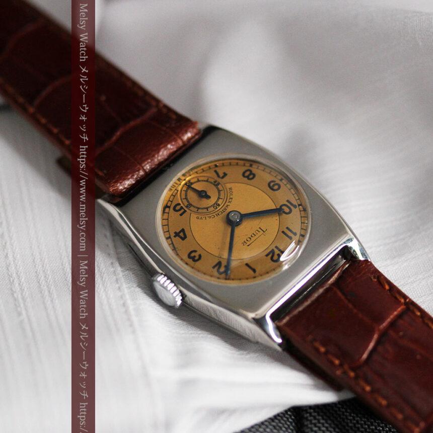 ロレックス・チュードル 奥深い素朴さのアンティーク腕時計 【1940年頃】-W1488-9