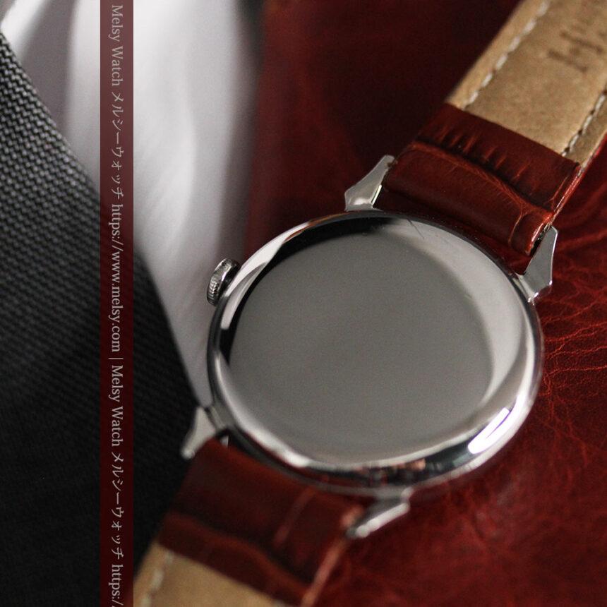 英国ベンソン 渋い深みのあるアンティーク腕時計 【1950年頃】-W1490-14