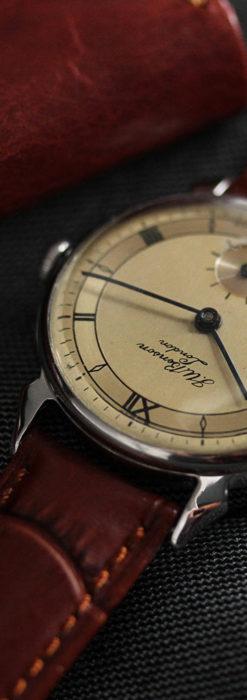 英国ベンソン 渋い深みのあるアンティーク腕時計 【1950年頃】-W1490-4