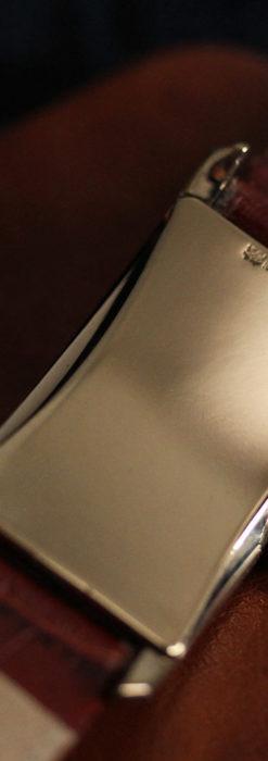 エルジン 装飾と曲線の美しいエレガントなアンティーク腕時計 【1937年製】-W1495-16