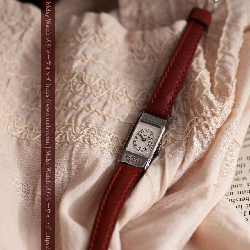 ロレックス・チュードル 魅せる上品なアンティーク腕時計 【1930年頃】-W1496-1