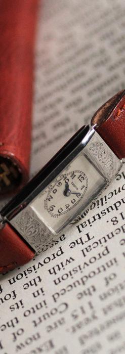 ロレックス・チュードル 魅せる上品なアンティーク腕時計 【1930年頃】-W1496-10