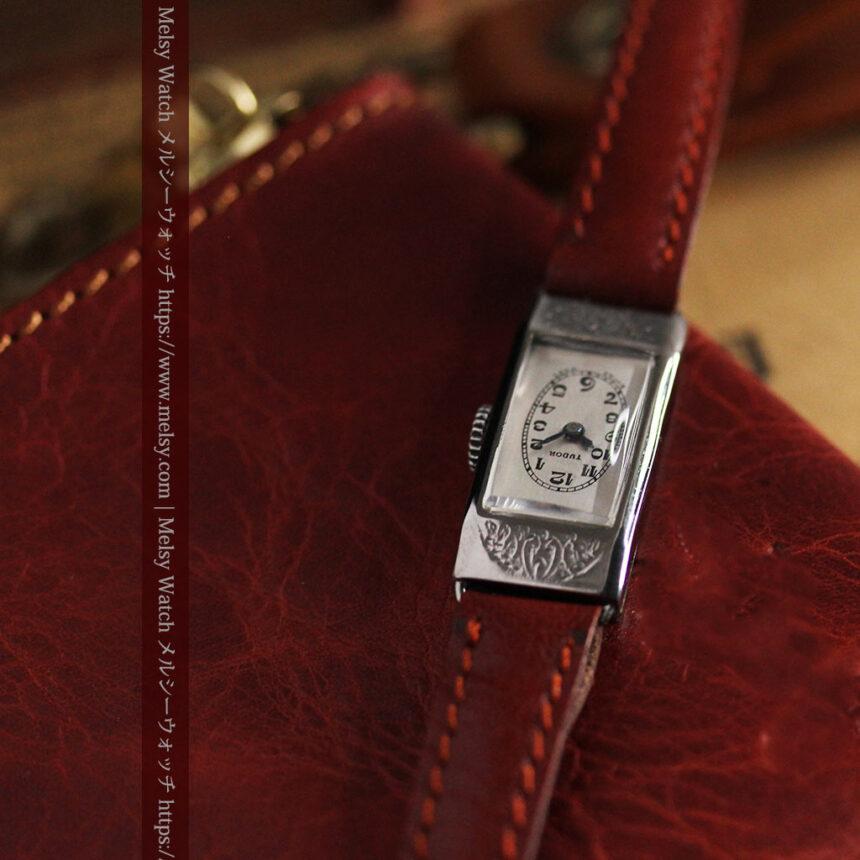 ロレックス・チュードル 魅せる上品なアンティーク腕時計 【1930年頃】-W1496-14
