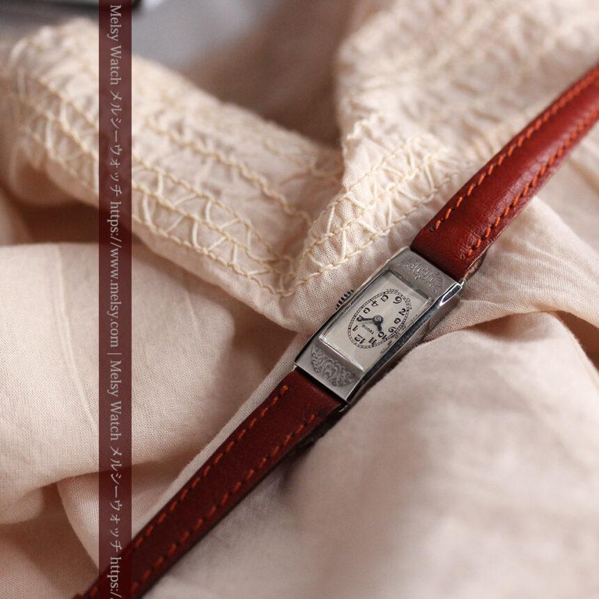 ロレックス・チュードル 魅せる上品なアンティーク腕時計 【1930年頃】-W1496-4