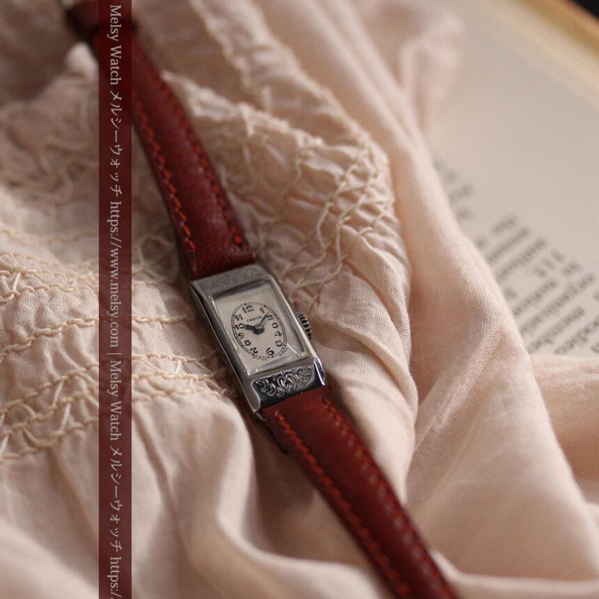 ロレックス・チュードル 魅せる上品なアンティーク腕時計 【1930年頃】-W1496-6