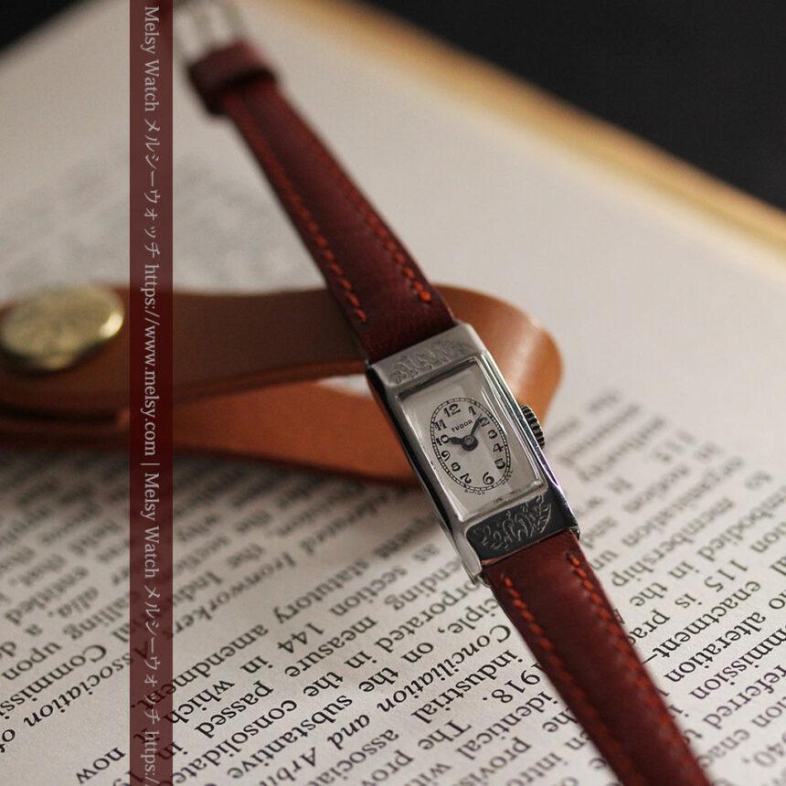 ロレックス・チュードル 魅せる上品なアンティーク腕時計 【1930年頃】-W1496-9