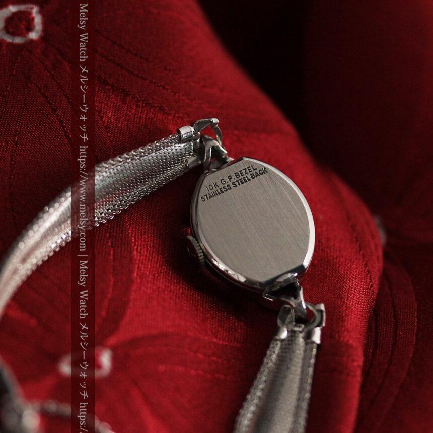 ウイットナーの艶やかな女性用アンティーク腕時計 【1950年頃】箱付き-W1497-11
