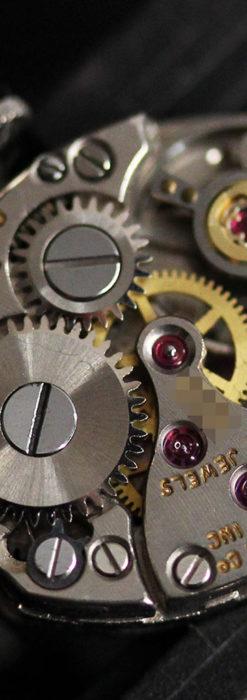 ウイットナーの艶やかな女性用アンティーク腕時計 【1950年頃】箱付き-W1497-14