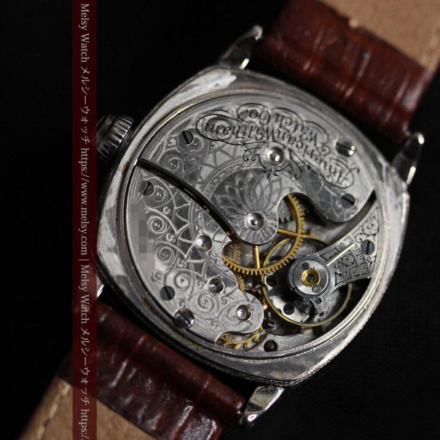 ウォルサムのアンティーク腕時計 十字が輝く金彩装飾 【1906年製】-W1500-16