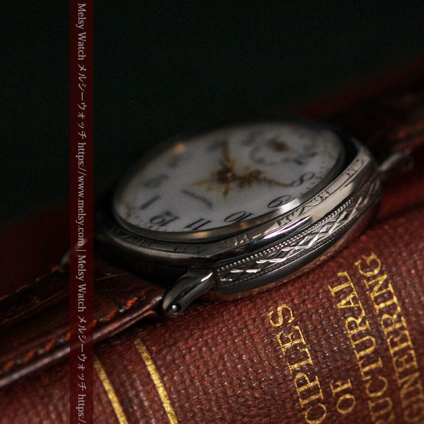 ウォルサムのアンティーク腕時計 十字が輝く金彩装飾 【1906年製】-W1500-17