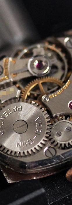 グリュエン ラッピング装飾されたようなローズ色の腕時計-W1502-15