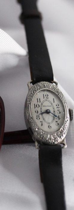 細工の綺麗なウォルサムの婦人物アンティーク腕時計 【1931年製】-W1504-1