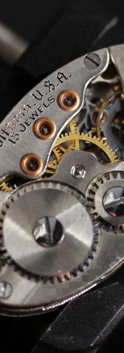 細工の綺麗なウォルサムの婦人物アンティーク腕時計 【1931年製】-W1504-15